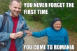 you never forget the first time