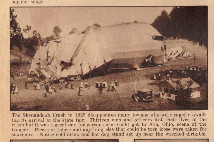 crash of the shenandoah