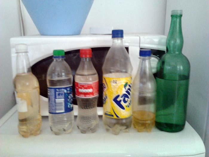 tuica in bottles