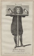 NPG D31036; Titus Oates after Unknown artist