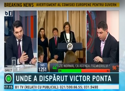 Where did Victor Ponta disappear to?