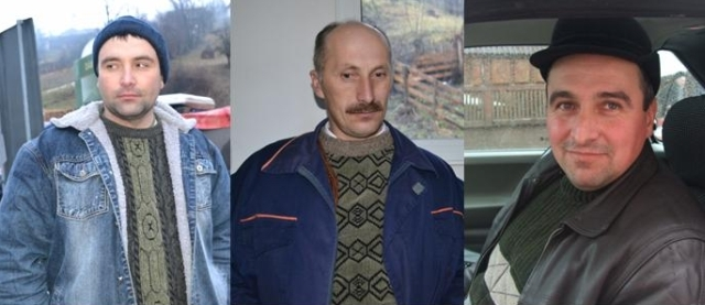 The three local men who found the downed plane when the entirety of the Romanian government could not