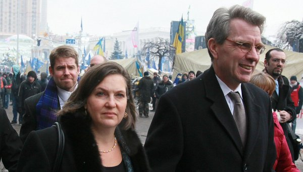 Victoria Nuland and Geoff Pyatt surveying America's future domain