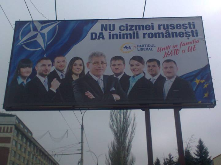 We prefer that our military overlords speak Romanian, not Russian!