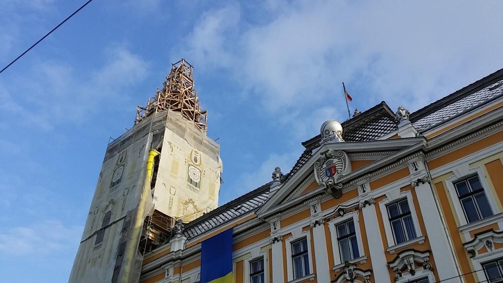 city hall cluj
