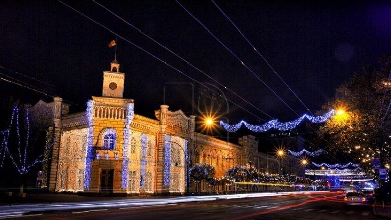Chisinau fireworks